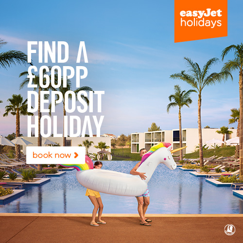 holidays with low deposit